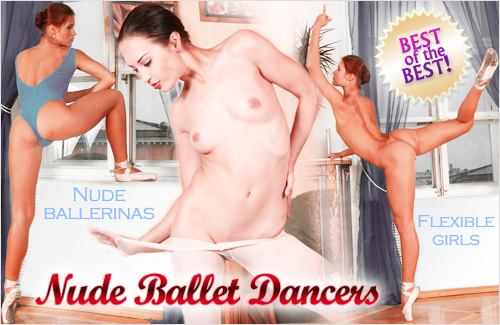 naked flexible female yoga dance ballet