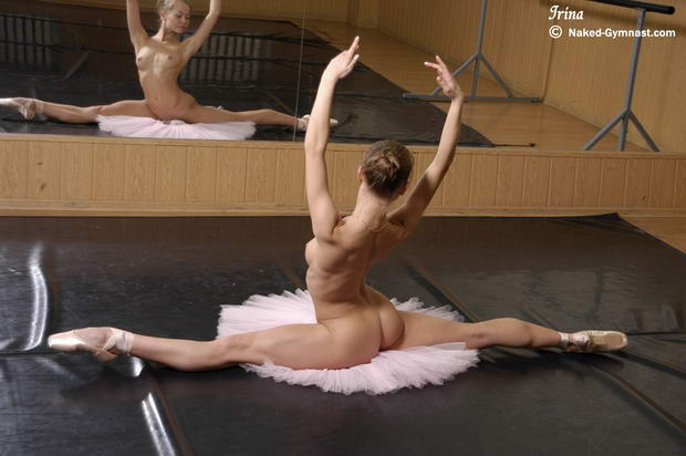 flexible girls gymnastic