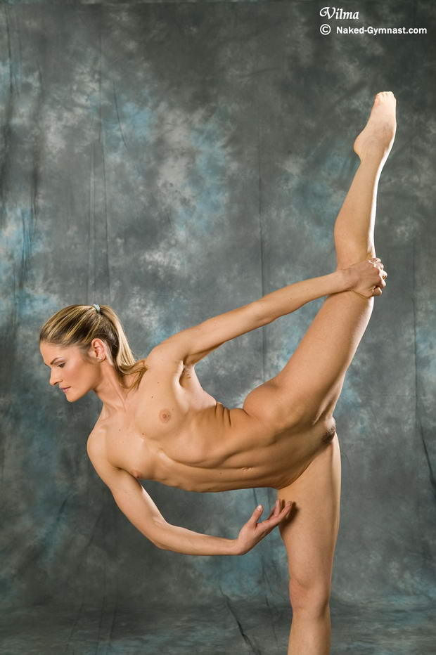 flexible naked girl